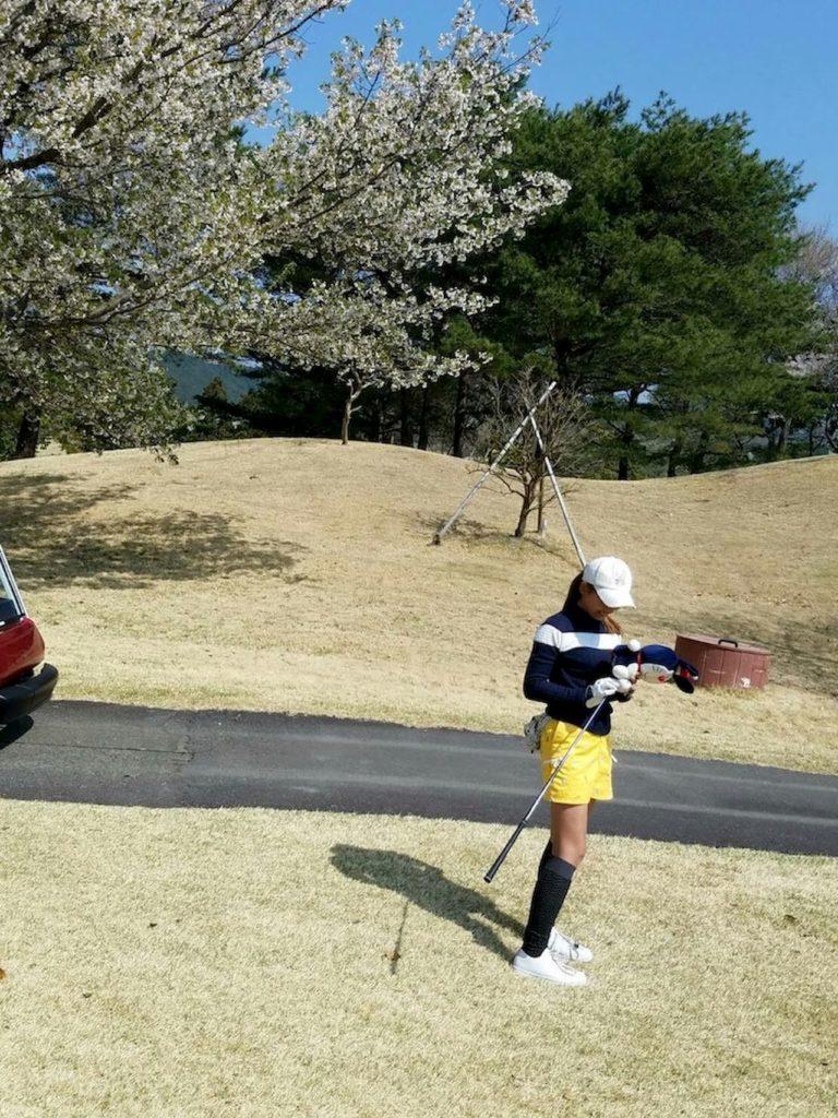 ゴルフ女子コーディネート