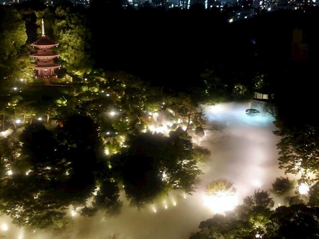 ホテル椿山荘東京 外観景色